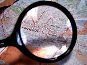 Поиск по координатам на Google и Яндекс картах