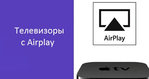 Телевизоры с Airplay